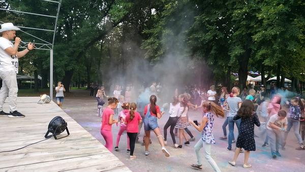 День молоді, свято, Фестиваль фарб