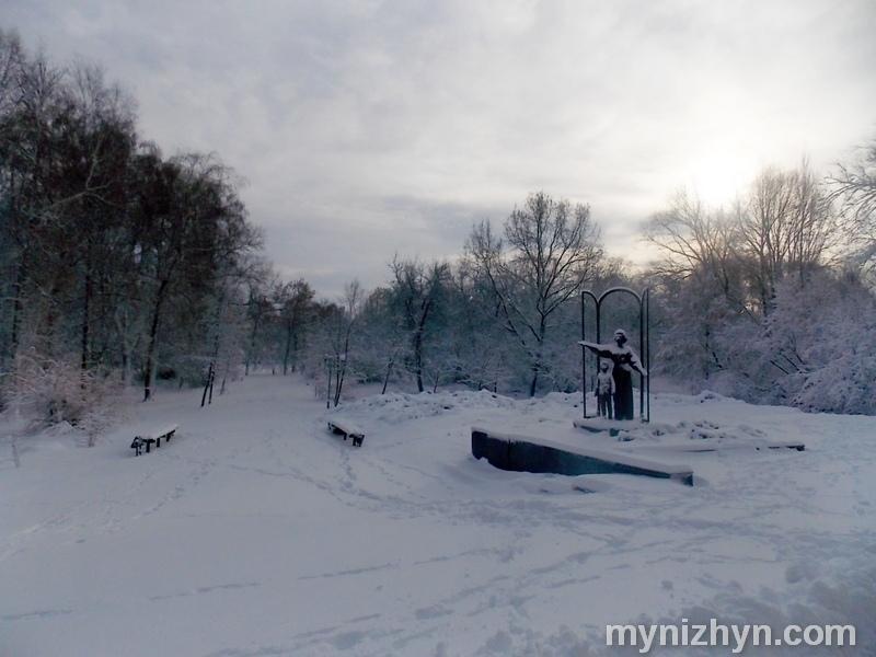 Зима, сніг, фото