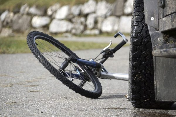 Велосипедист, авто, ДТП