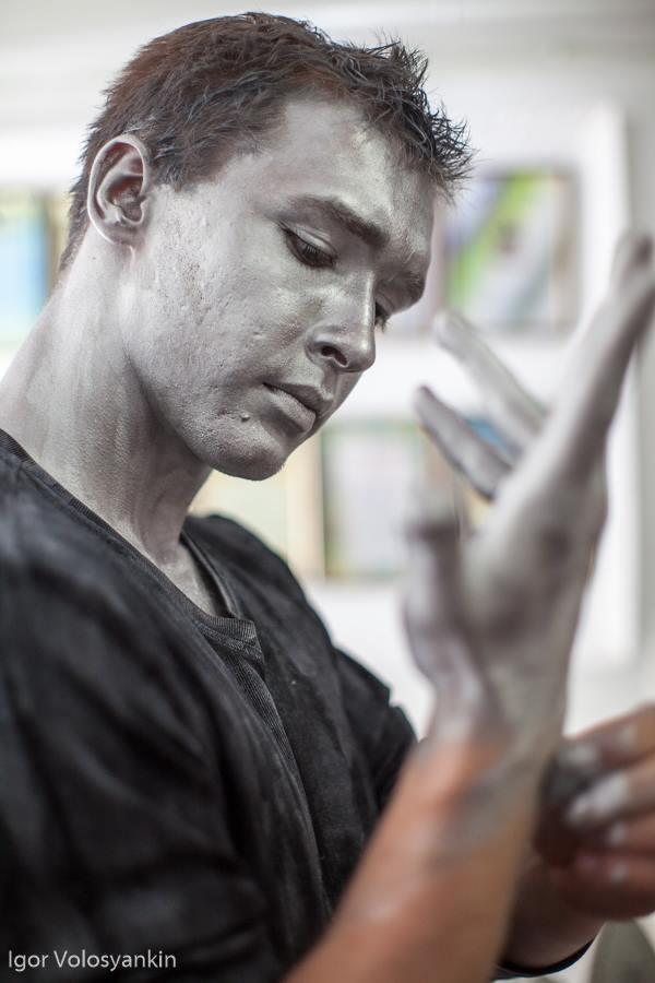 Ігор Волосянкін, Живі скульптури, День міста
