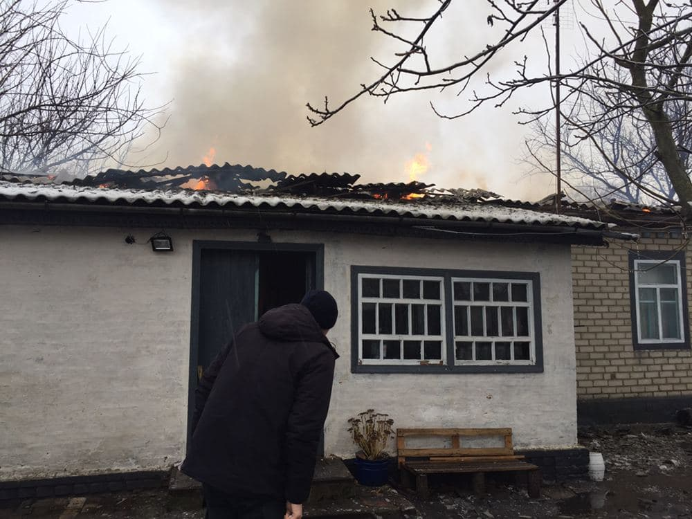 пожежа, Ніжинщина, будинок