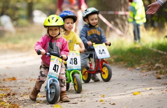 спорт, дитячі велогонки