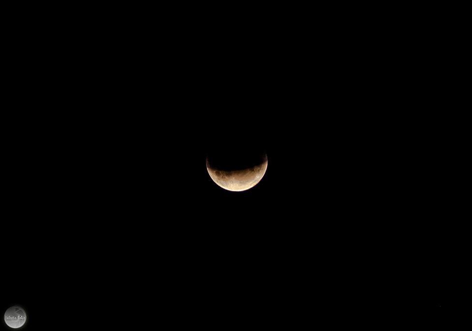 місячне затемнення, фото
