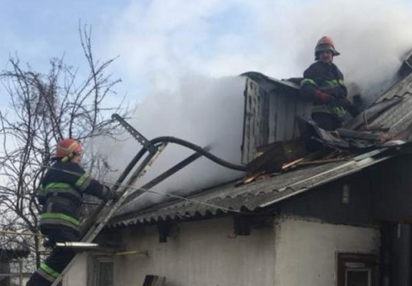 пожежа, піч, житловий будинок