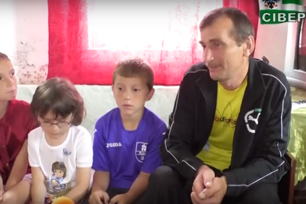 Олександр Галько, багатодітний батько