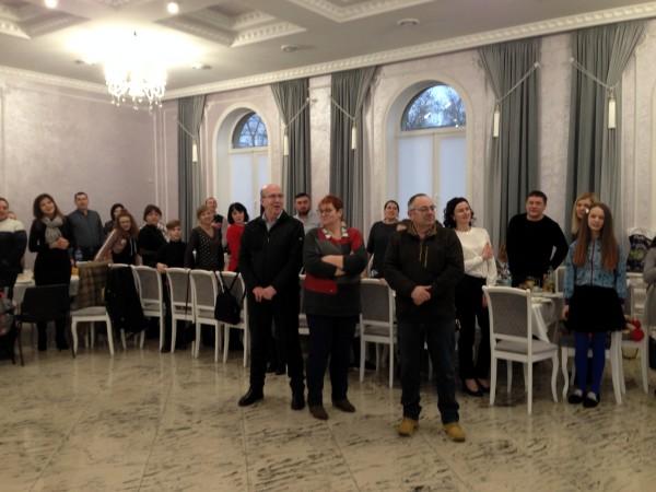 ННВК №16 «Престиж», делегація, зустріч, Франція