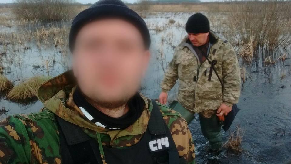 С14 Чернігів, браконьєри, затримання