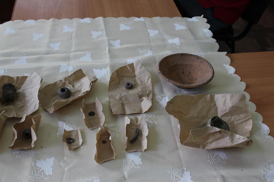 археологія, Іван Кедун, розкопки, знахідки, Новгород-Сіверський