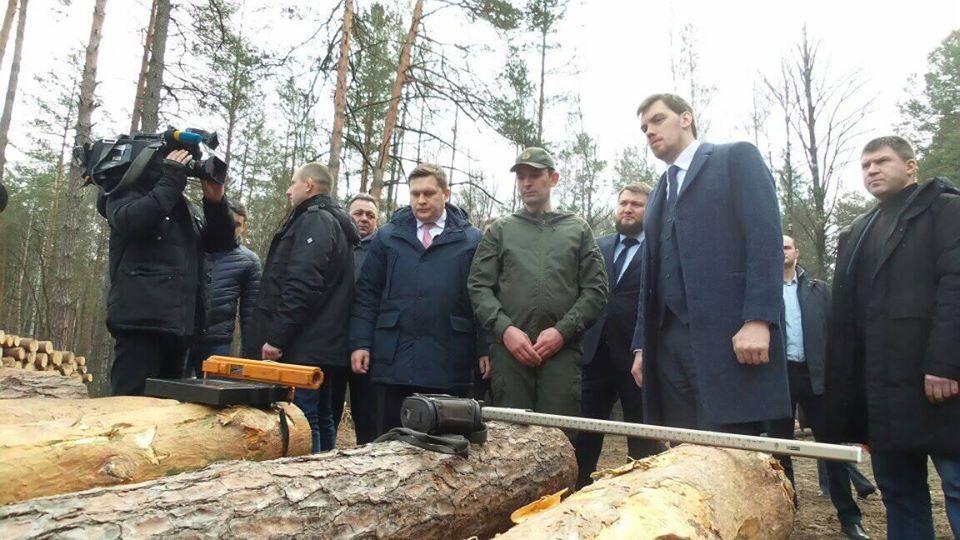 Гончарук, поїздка, Чернігівщина, лісгосп, деревина