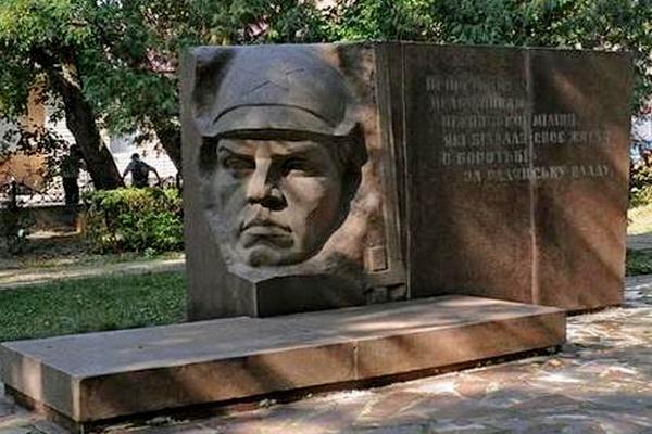 пам'ятник, братська могила, сквер Гоголя