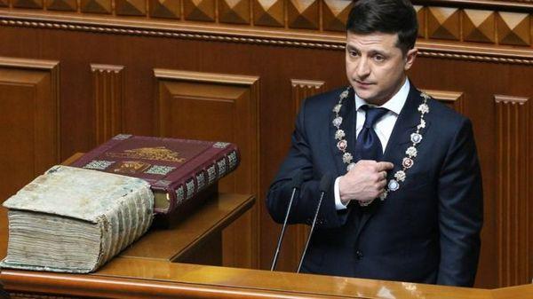 Володимир Зеленський, президент, інавгурація