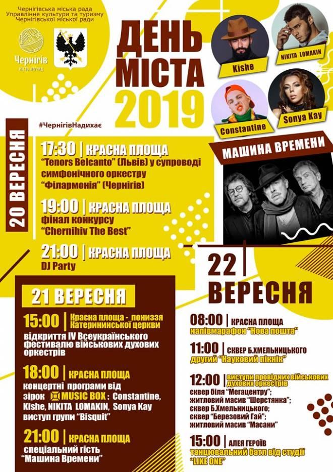 День міста, Чернігів