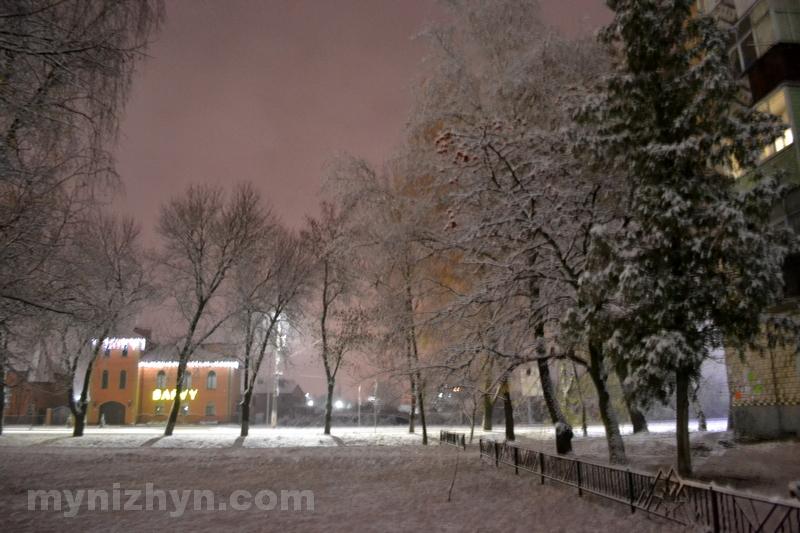 сніг, зимова казка, Ніжин