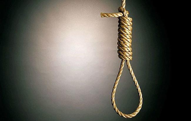 Самогубство, повішення