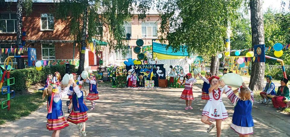День Державного Прапора, День Незалежності України, ЗДО №13 «Берізка», святкове дійство