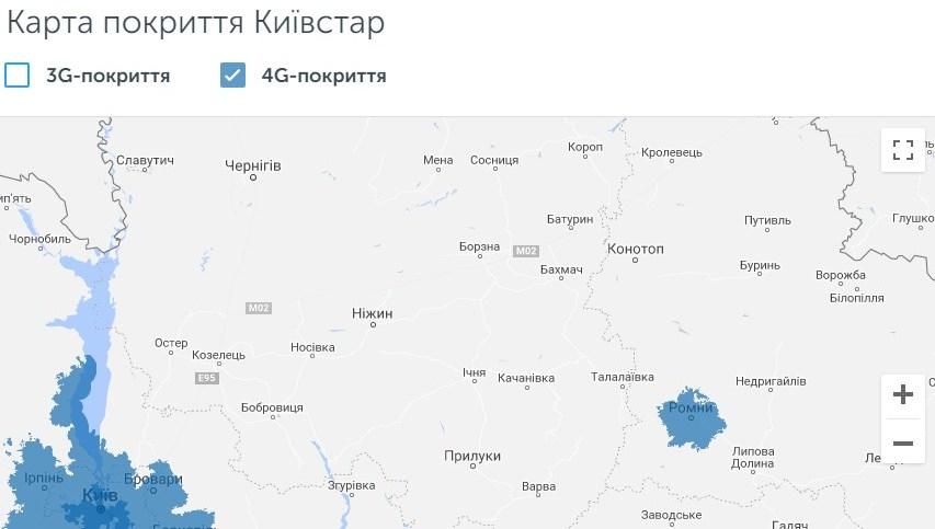 4G, Київстар, мобільний зв'язок