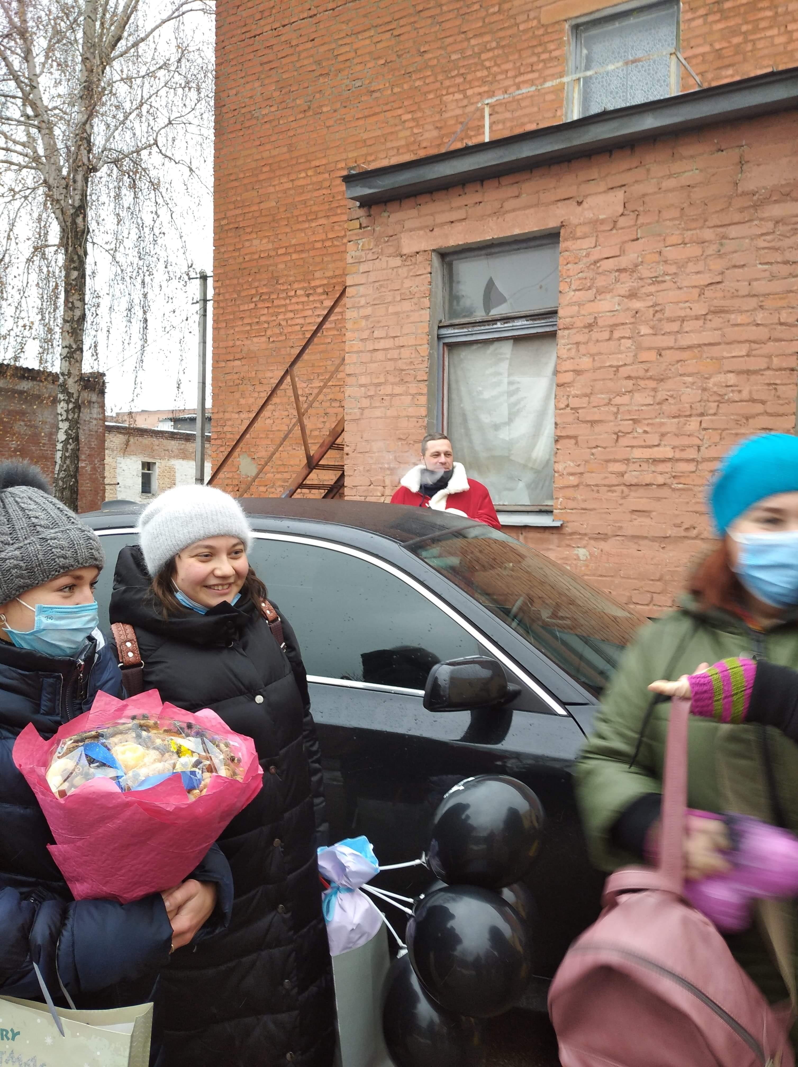 Свято Святого Миколая, центр соціально-психологічної реабілітації дітей, подарунки