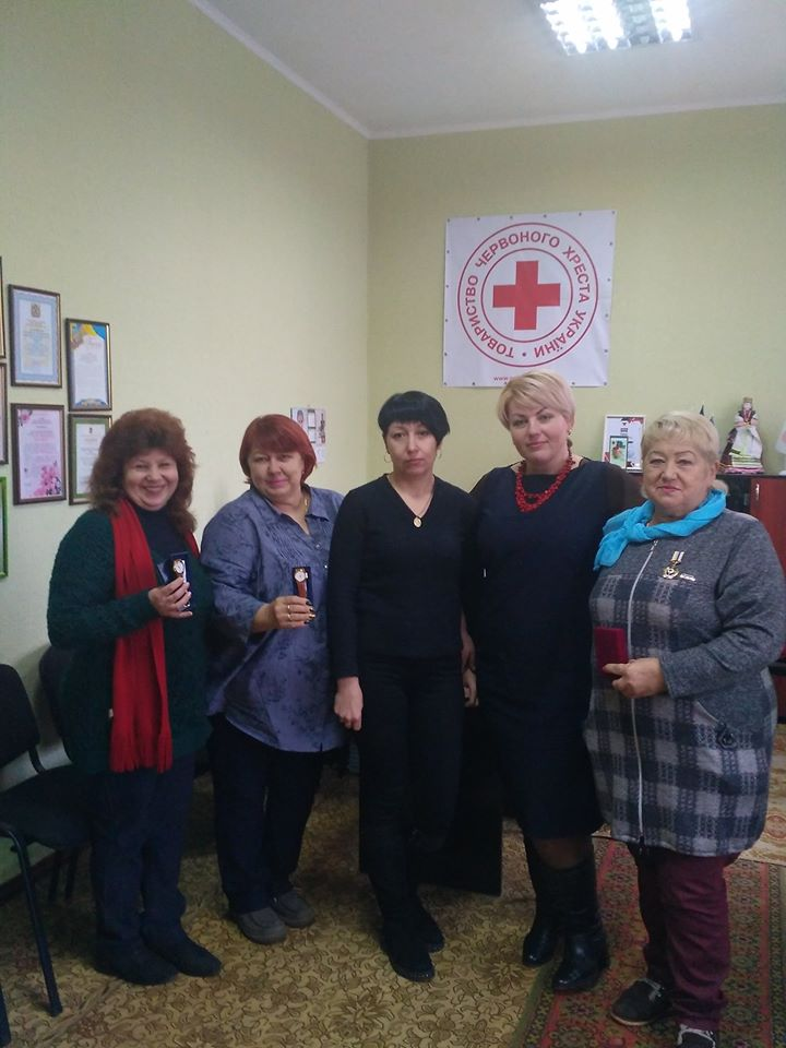 нагорода, Червоний Хрест, Наталія Саєнко