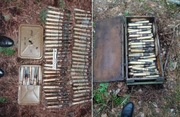 СБУ, зброя, схрон