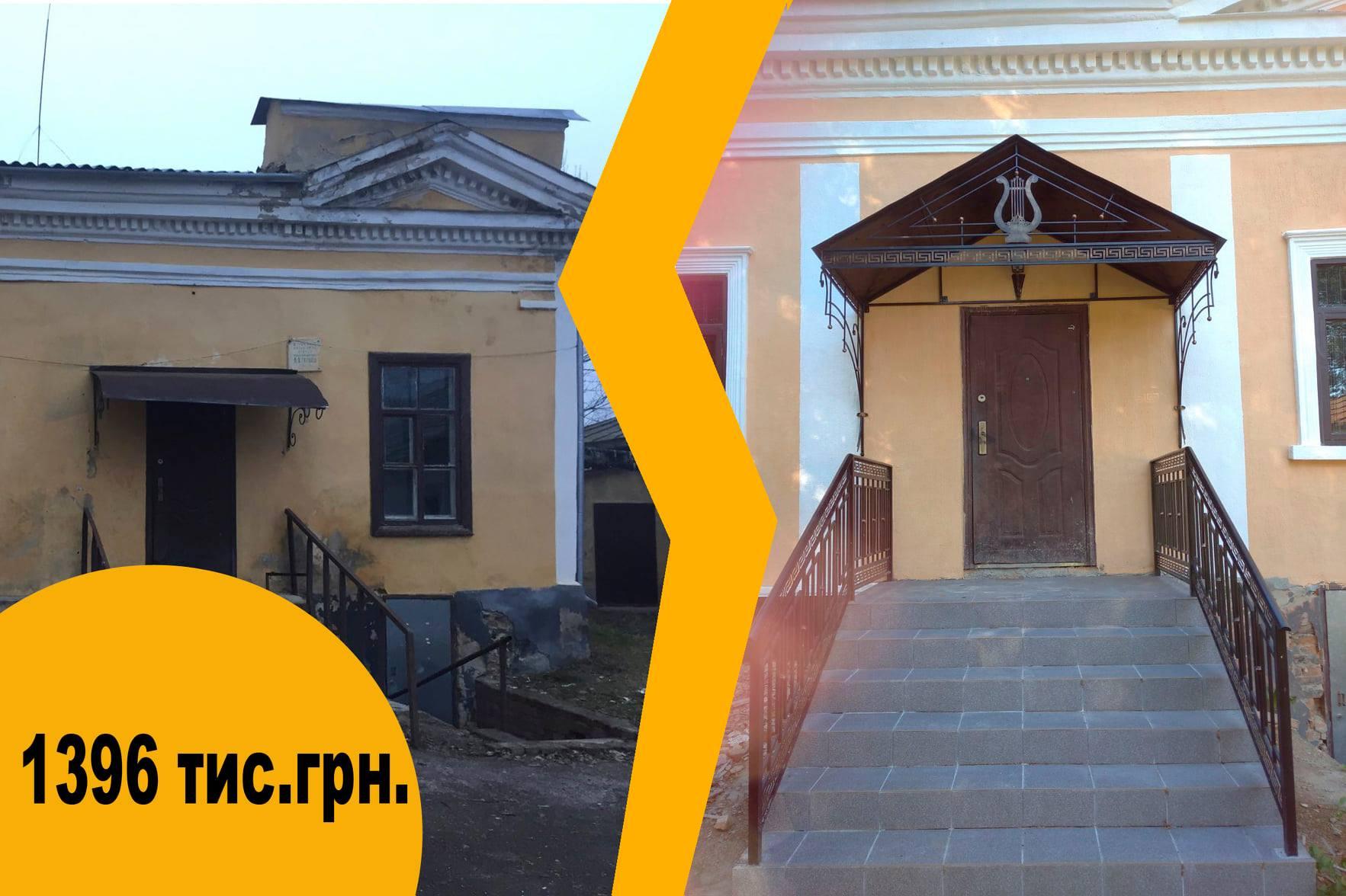 садиба Макарових, відновленння, ремонт