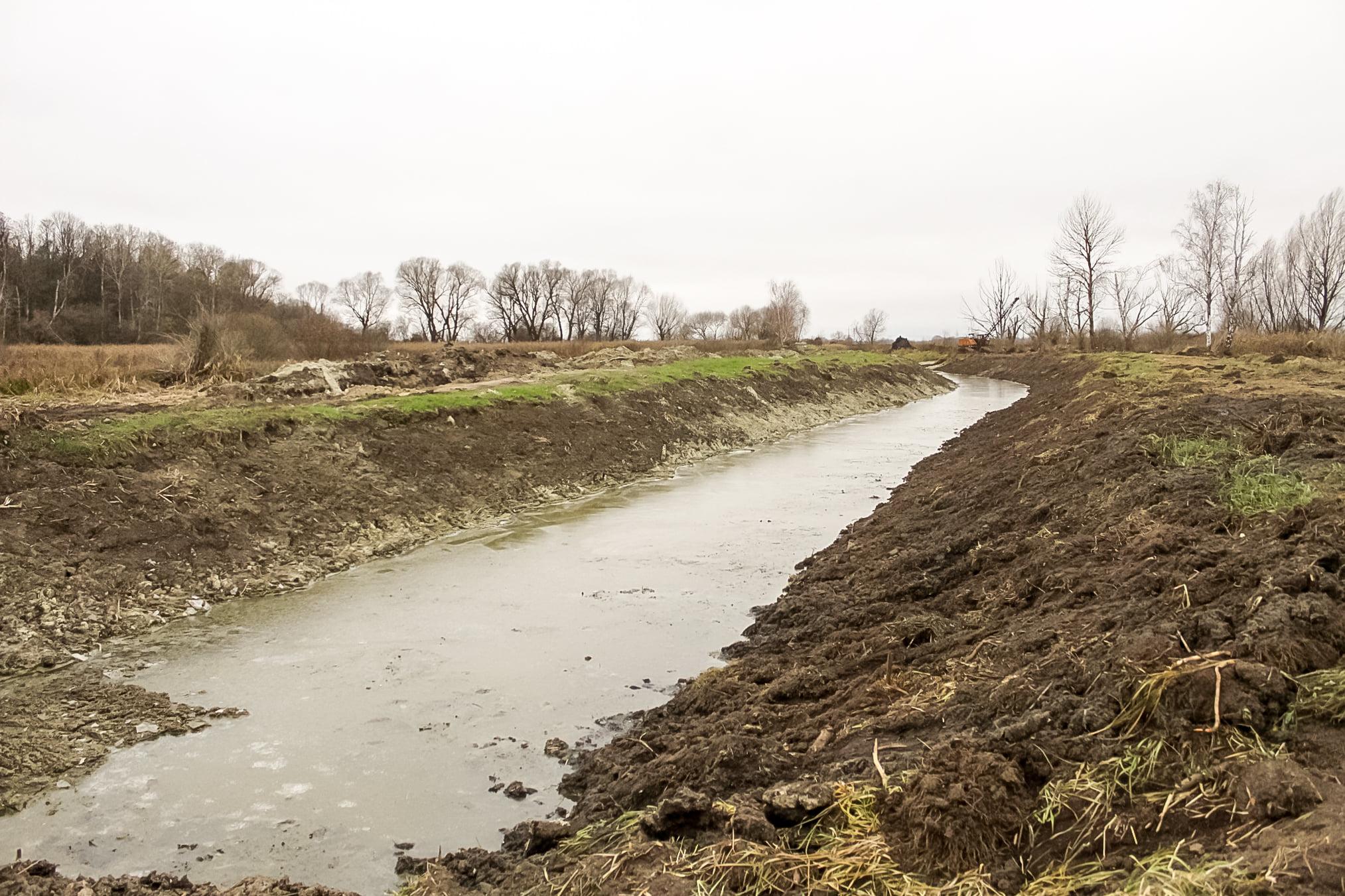 Остер, річка, відновлення