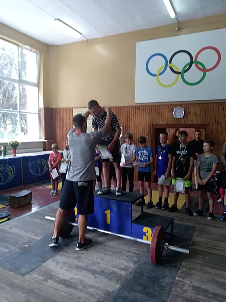 чемпіонат області, важка атлетика, Лосинівка, звання