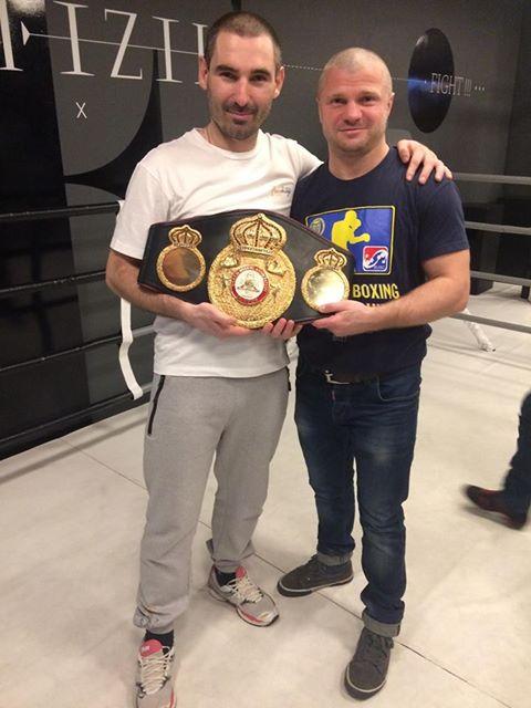 боксери, гості, Володимир Сидоренко