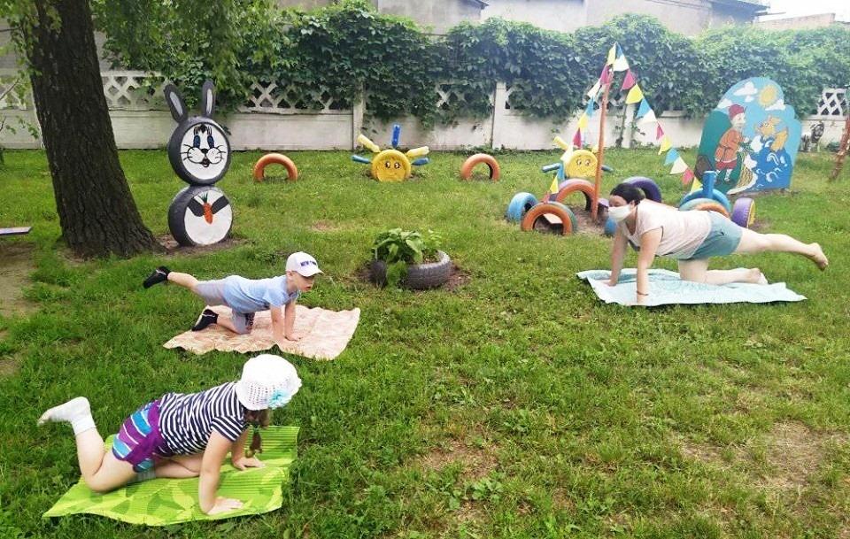 "ЗДО №13 ""Берізка"", День йоги"