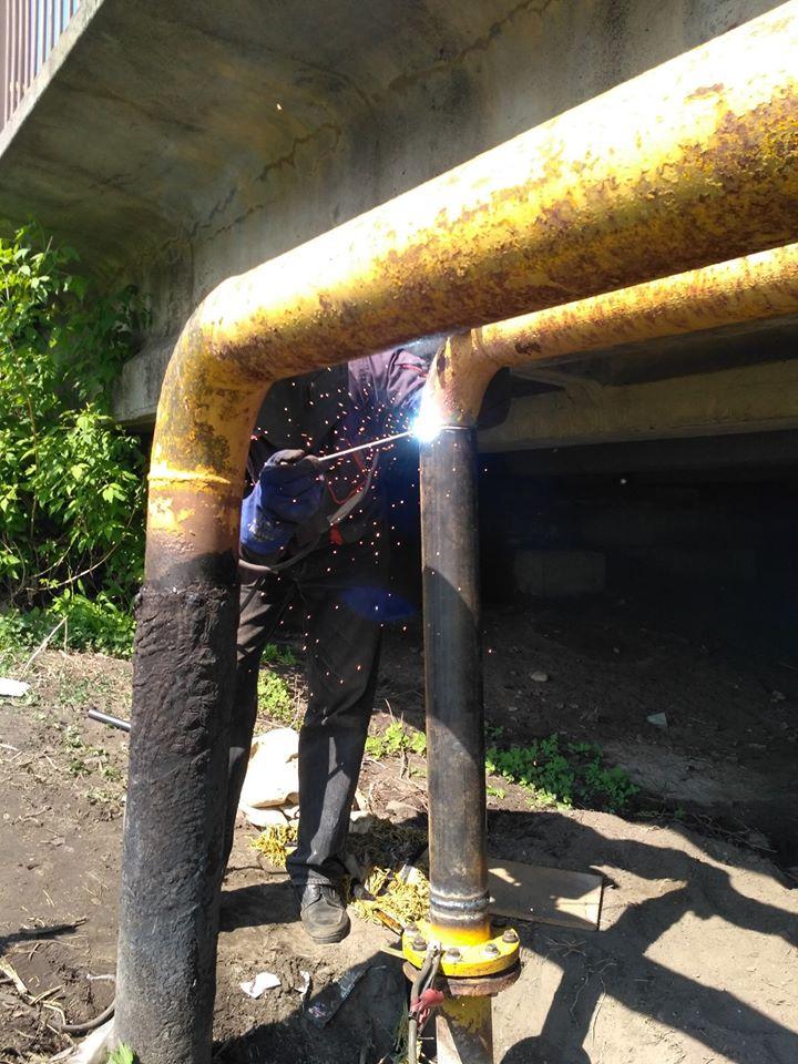 газовики, пошкодження, річка Остер