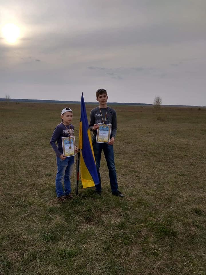 ракетомоделісти, змагання, перемога