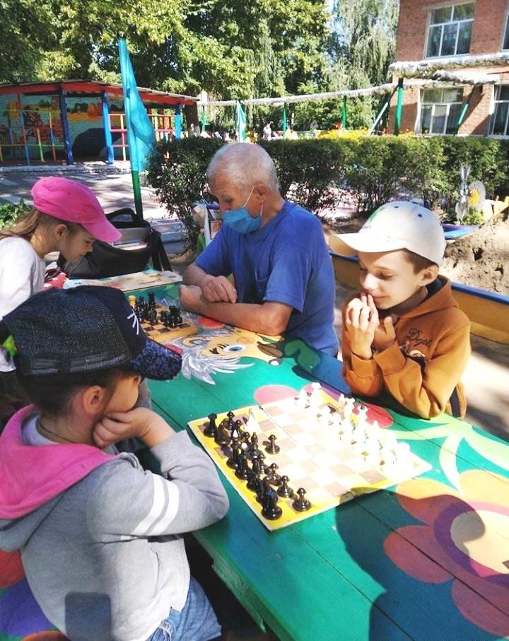 шахи, дитсадок, турнір