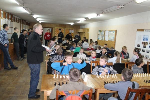 шахова школа, прибиральниця