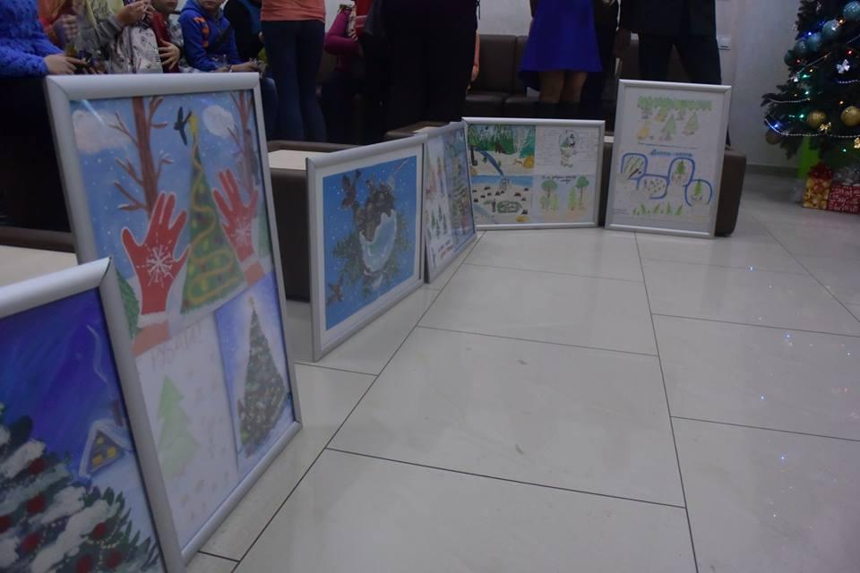 Ніжинські лісівники, конкурс, малюнок