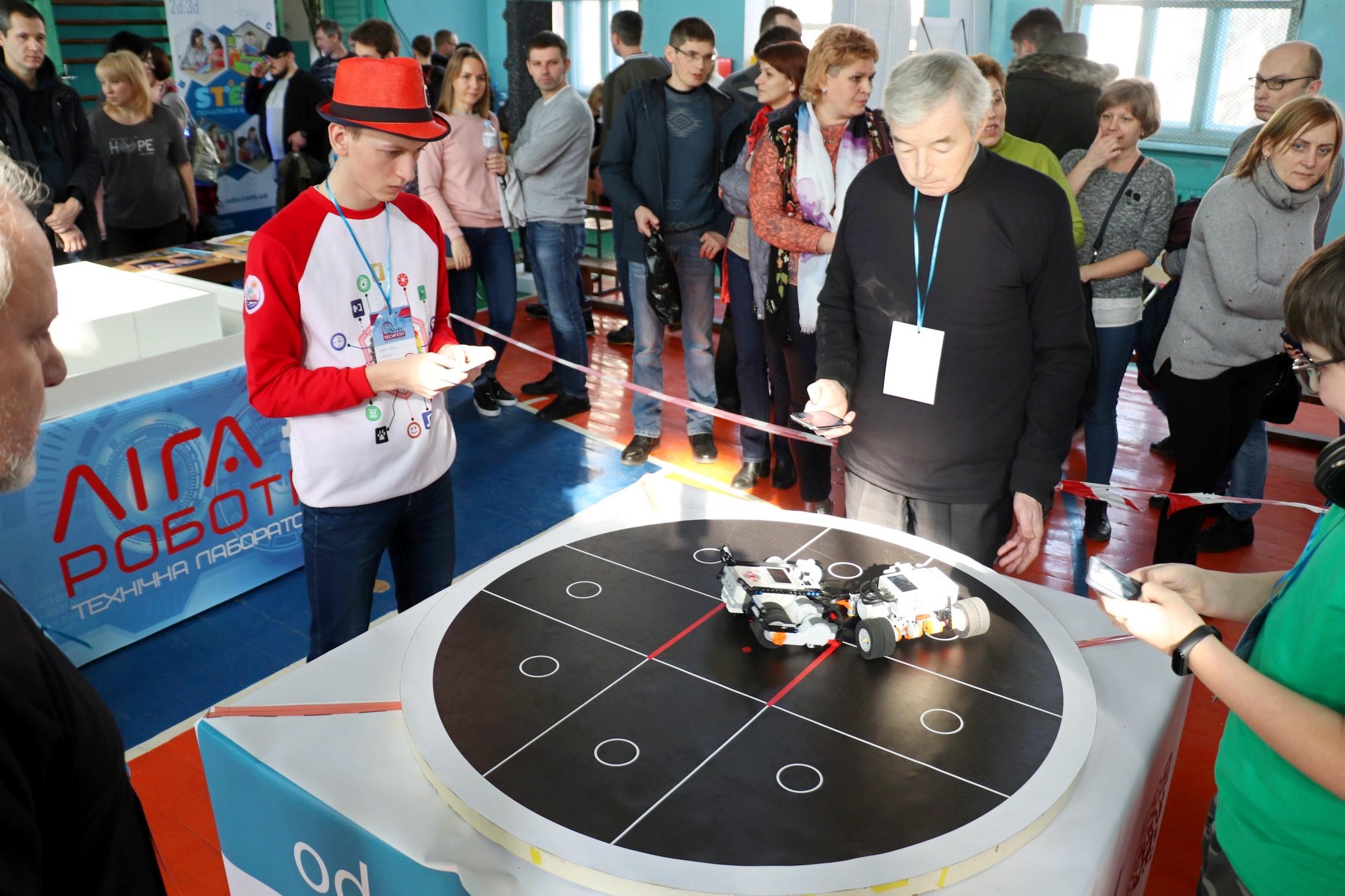 змагання, фестиваль, робототехніка, Центр STEM освіти
