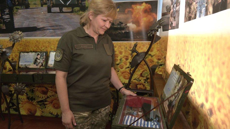 Вікторія Лупікс, армія, АТО