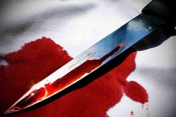 батько, син, ніж