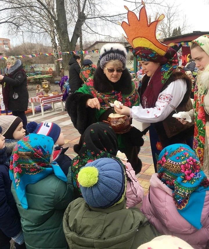 Масляна, ДНЗ №13 «Берізка», діти, вареники, свято