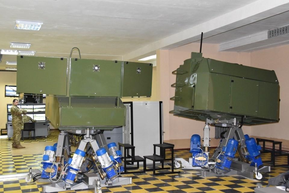 армія, танки-тренажери