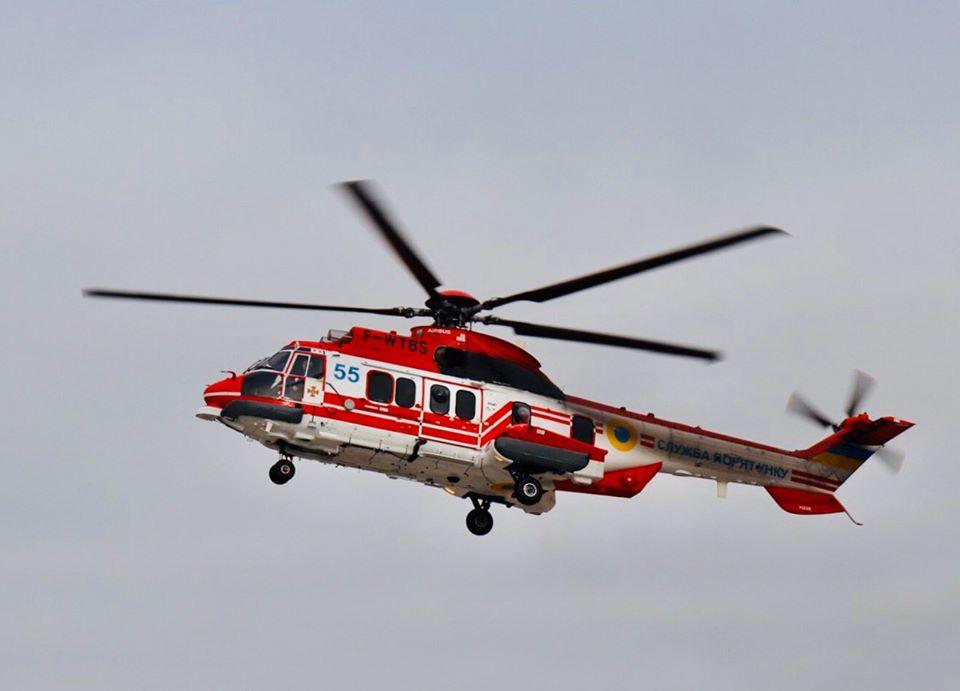 гелікоптер, Super Puma, авіаційний загін