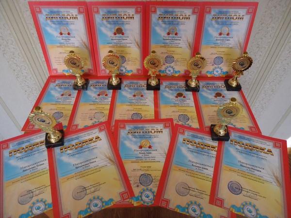 Ніжинська хореографічна школа, учні, лауреати