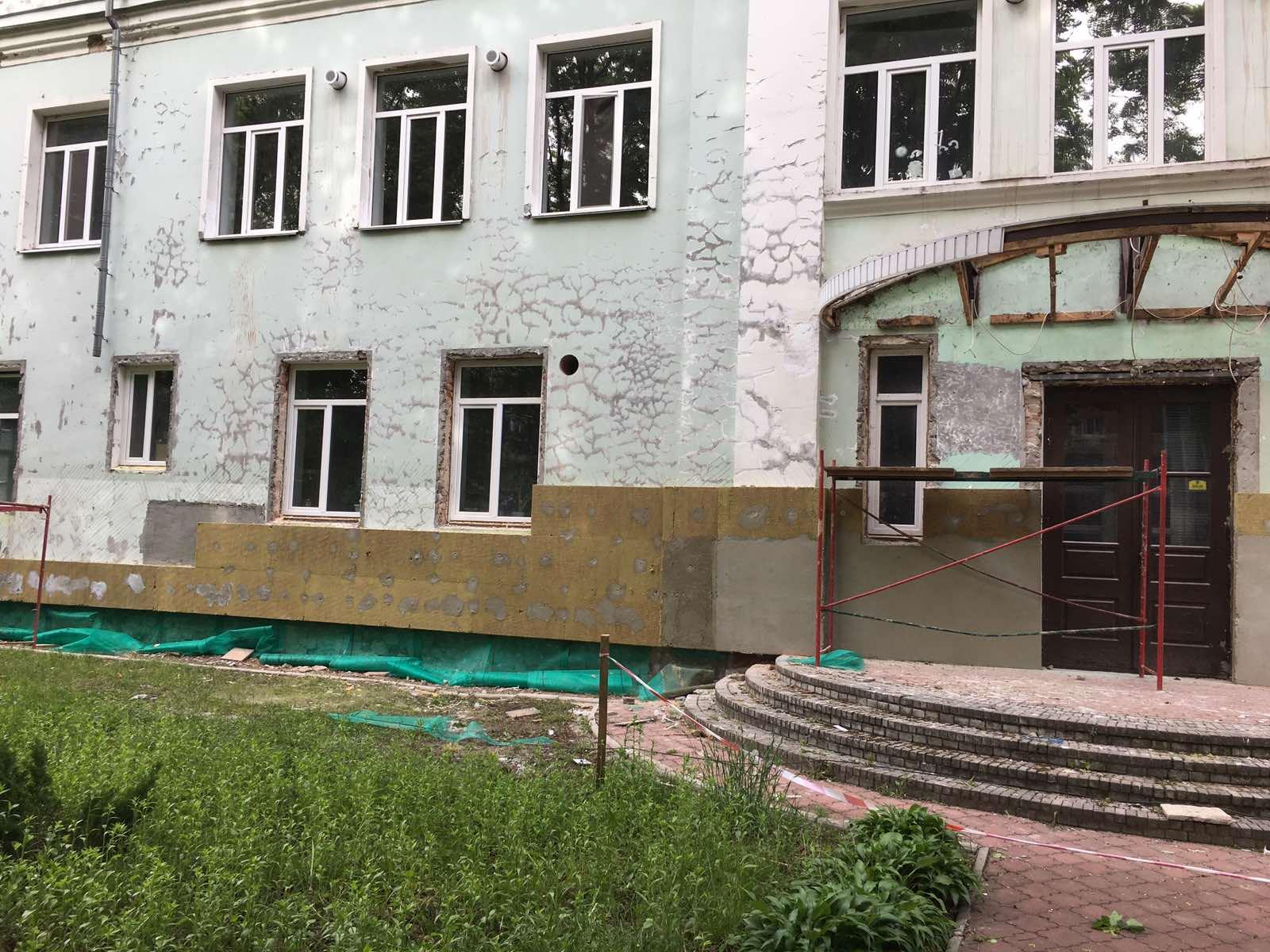 школа №10, будівництво, майданчик