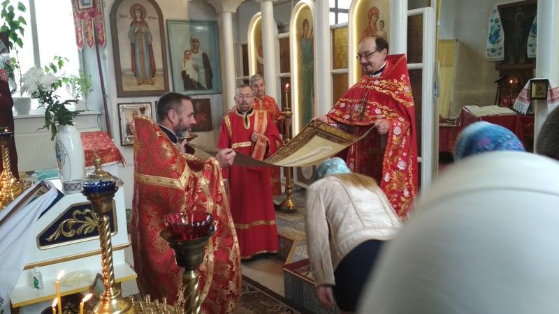 Віддання Пасхи, свято, Покровський храм