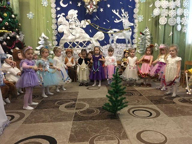 дитячий садок, новорічне свято