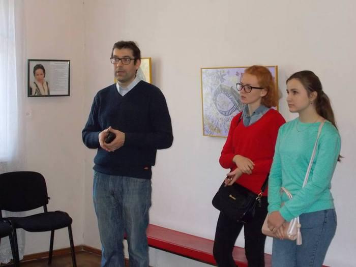 ошибана, картини, квіти, виставка, Катерина Борисова