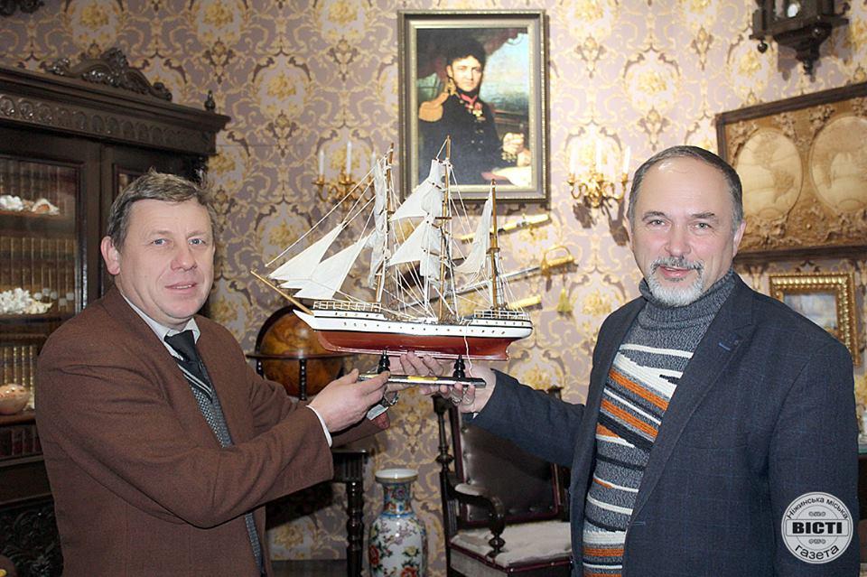 експонат, музей, Юрій Лисянський, музей Рідкісної книги