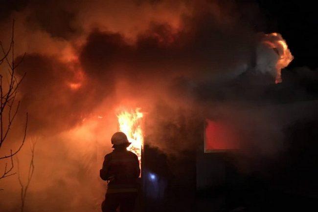 пожежа, сільський клуб, Кропивне
