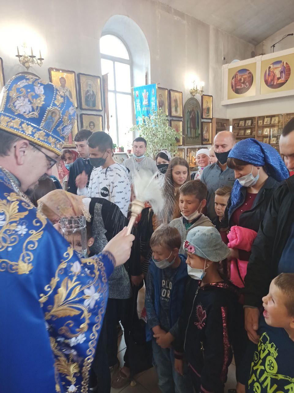 благословення, храм святої Покрови, діти