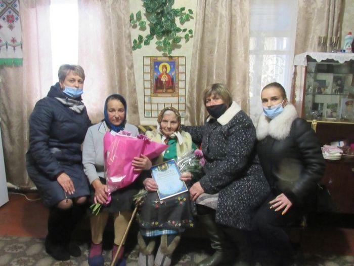 село Шатура, 100 років, Вовк Уляна Семенівн