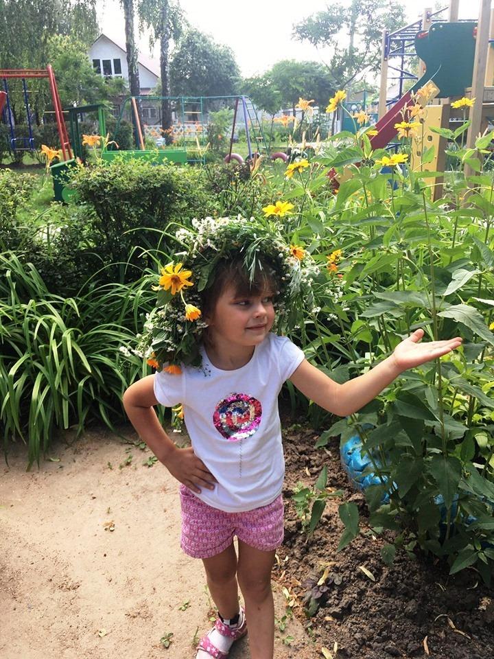 ЗДО №13 «Берізка», трави, квіти, майстерня