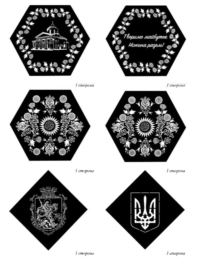 Багатогранник, восьмикутник, октаедер, площа, ніжин